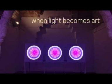 Targetti Color Wheels in Skopje Light Art District